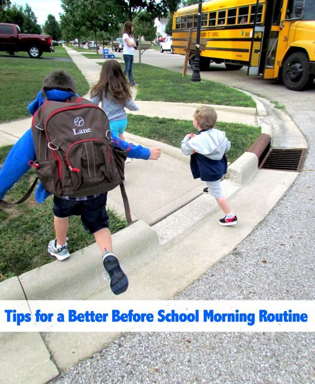 BeforeSchoolMorningRoutine