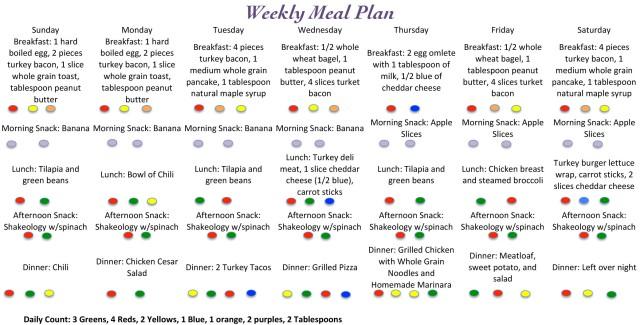 Mealplan Sheet1